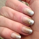 Silver/ Gold Gradient