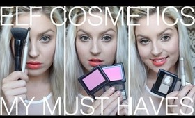 ELF Must Haves ♡ Best ELF Makeup Cosmetics ♡ Top Picks