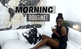 MY MORNING ROUTINE | JANET NIMUNDELE