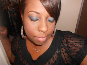BH Cosmetics Smoky Eye Palette..Haven't mastered the brows but I was satisfied with the overall look.