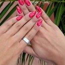 Red Passion/Nails/Stiletto/Mandorla/Red Nails/Crystal Nails