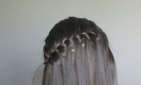 How To: Waterfall Braid