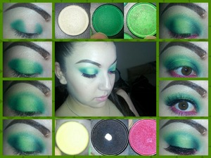 My step by step of today's look :)) I hope you like it. I had fun with this look.