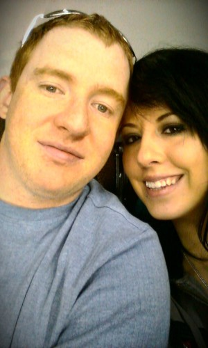 Me and my love. My hubby :)