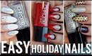 Easy Holiday Nails | Chrome Girl Polish