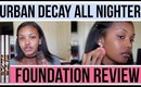 Try It Out Tuesday: NEW Urban Decay Foundation!! #TIOT