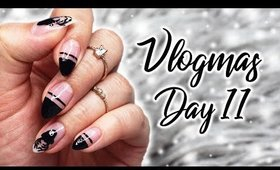 IKEA Inspired Reindeer Nails   Vlogmas KKN Style Day 11 ♡