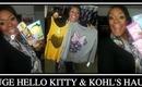 Huge Target Hello Kitty & Kohl's Haul