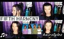 Fifth Harmony's Teen Choice Awards Hairstyles   News feed