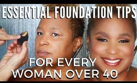 Essential Foundation Tips For Every Woman Over 50 | mathias4makeup