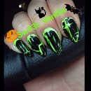 Halloween Nails / October 2013!! 🔮👻🎃 Stiletto Nail