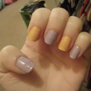Lilac and Tangerine :)