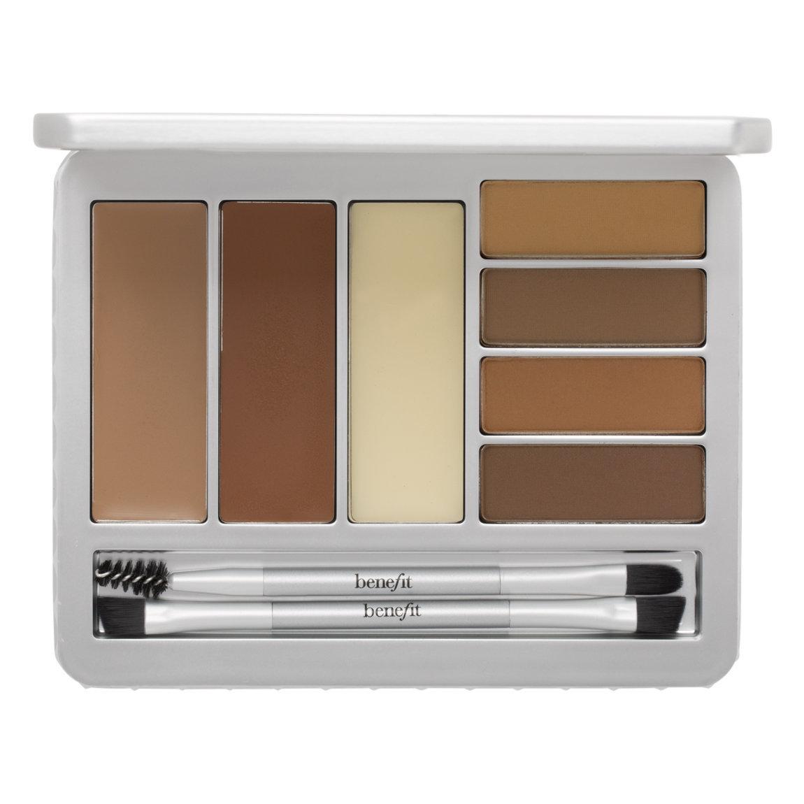 Benefit Cosmetics Brow Zings Pro Palette Light-Medium product swatch.