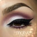 Bold eyeliner