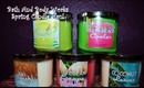 Bath and Body Works Spring Candles Haul