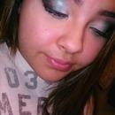 My Christmas makeup