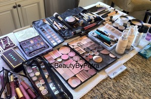 My makeup mess :) #mac #esteelauder #inglot #stila #smashbox #cinemasecrets #parisberlin #toofaced #loreal #urbandecay #loracpro #lancome #makeupforever #alcohol  #makeup #makeupkit #eyeshadow #palette #makeupmadness #lashes #ardell