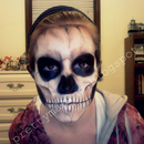 Skull Make-Up - Front View