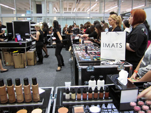 IMATS Sydney 2011 - the Inglot booth
