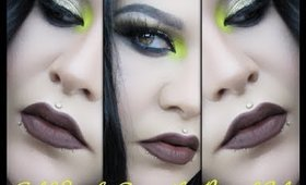 Gold Smoky Eye with a Pop of Color | Mystiquee1986