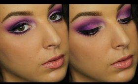 Royal Purple with Double Winged Liner | Makeup Tutorial ♥