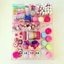 Colorful girly stash