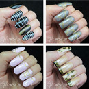Sunday Spam Featuring Born Pretty Store Gold Embossed Nail Art Stickers
