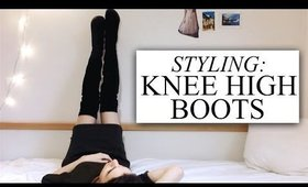 HOW I STYLE OVER THE KNEE BOOTS