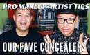 Pro Makeup Artist Top Concealer Picks | Monday Makeup Chat | mathias4makeup