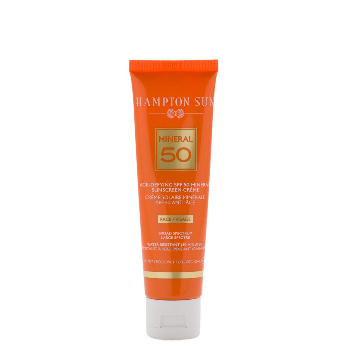 Hampton Sun Age-Defying SPF 50 Mineral Sunscreen Crème product swatch.
