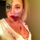 Pinup style zombie