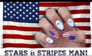 HOW TO: Stars and Stripes Mani