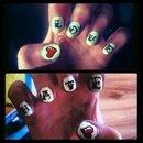 Love/hate tattoo style