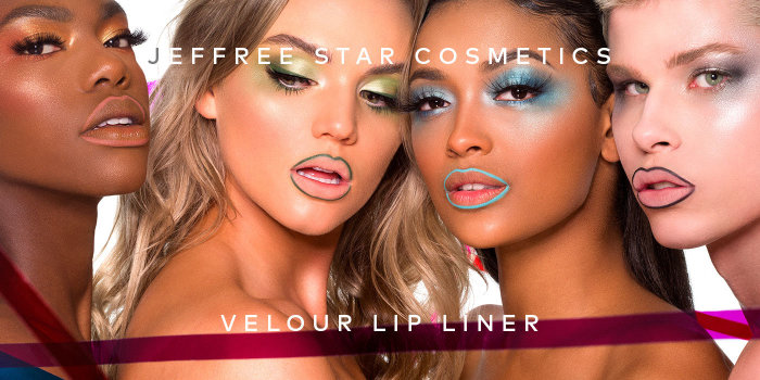 Jeffree Star's Velour Lip Liners are back in stock! Shop now on Beautylish.com