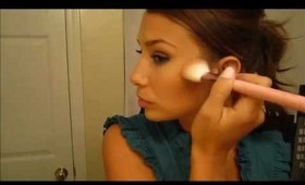 How to Contour and Highlight Your Face - Simple, Basic