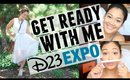 GET READY WITH ME | Disney's D23 Expo