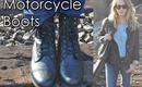 How I Wear: Motorcycle Boots