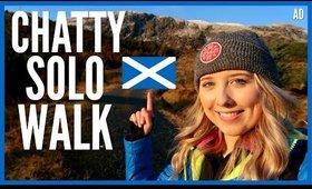 AD - Chatty solo Winter walk in Scotland