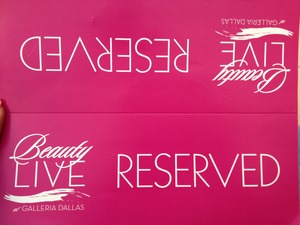 I got reserved seating for $20, a swag bag, complimentary product from Josie Maran, & a $20 gift card to Sephora.