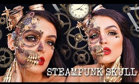 STEAMPUNK SKULL Halloween Makeup