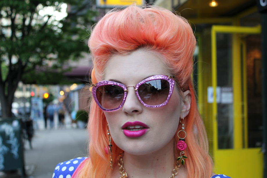 Rainbow Inspiration On The Streets With The Biggest Hair