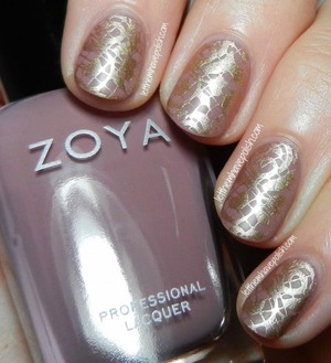 For full details: http://www.letthemhavepolish.com/2014/01/zoya-brigitte-stamped-nail-art-look.html