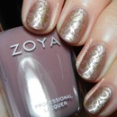 Zoya Brigitte stamped in Gold