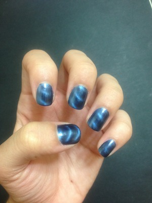 Blue Magnetic polish