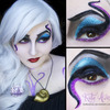 Ursula Cosplay Makeup