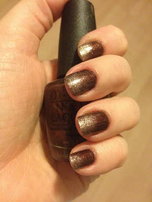 Used OPI Glitzerland and OPI Espresso Your Style