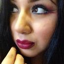 Bold lip , bold eye 👌💄💋