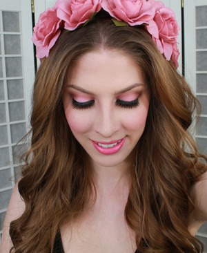 Love this ethereal look from Pigments and Palettes, featuring our MIRANDA lash!