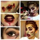 Zombie Practice For Halloween!
