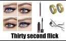 HOW TO: WINGED EYELINER MADE SUPER EASY!